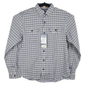 NWT Tailor Vintage Luxe Performance Flannel Shirt